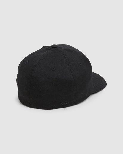 3 SHANE FLEXFIT Black R305577 RVCA