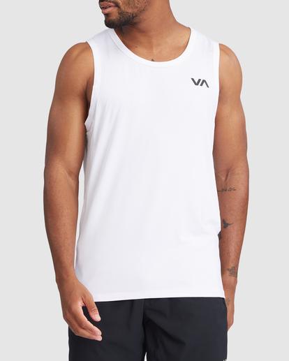 0 SPORT VENT TANK TOP White R307001 RVCA