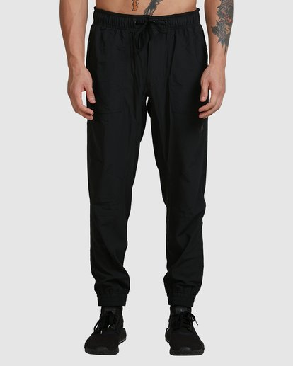 1 YOGGER PANTS Black R307275 RVCA