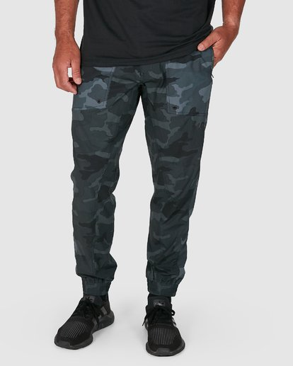 6 YOGGER PANTS Camo R307275 RVCA