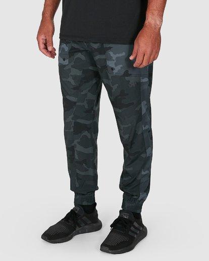 4 YOGGER PANTS Camo R307275 RVCA