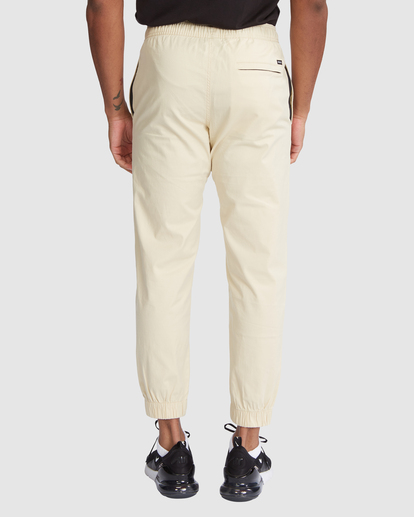 2 SPECTRUM CUFFED WORKOUT PANTS Brown R307276 RVCA