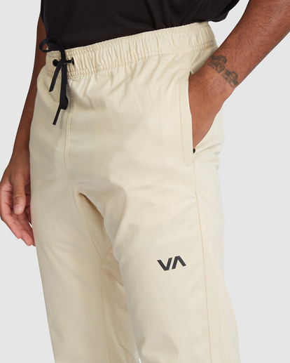 3 SPECTRUM CUFFED WORKOUT PANTS Brown R307276 RVCA