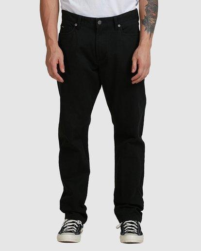 1 DAGGERS TWILL PANTS Black R307280 RVCA