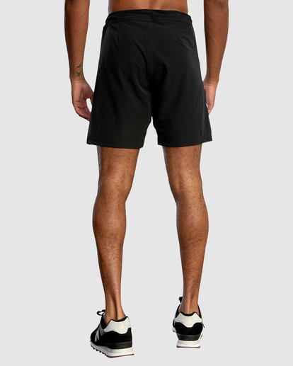 "1 Fight Scrapper Athletic Shorts 17"" Black R307311 RVCA"