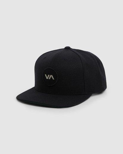 0 VA PATCH SNAPBACK CAP Black R307572 RVCA