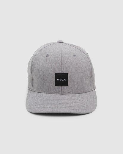 1 Shift Flexfit Cap Grey R308561 RVCA