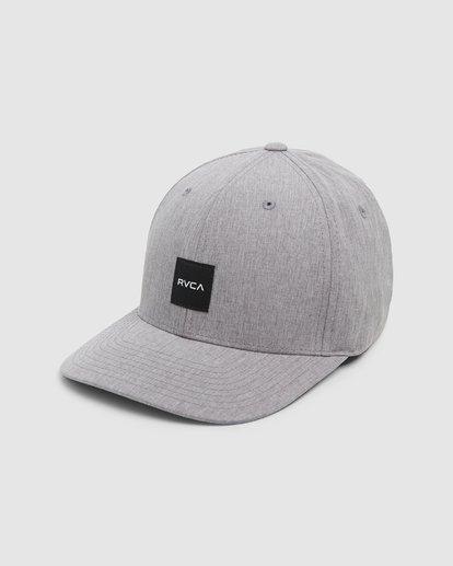 0 Shift Flexfit Cap Grey R308561 RVCA