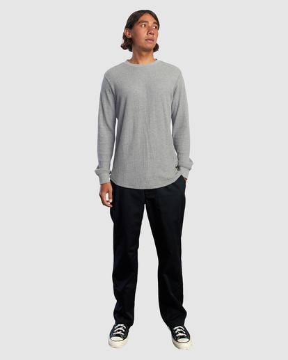 4 DAY SHIFT THERMAL LONG SLEEVE SHIRT Grey R315091 RVCA