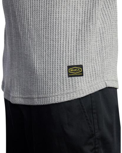 3 DAY SHIFT THERMAL LONG SLEEVE SHIRT Grey R315091 RVCA
