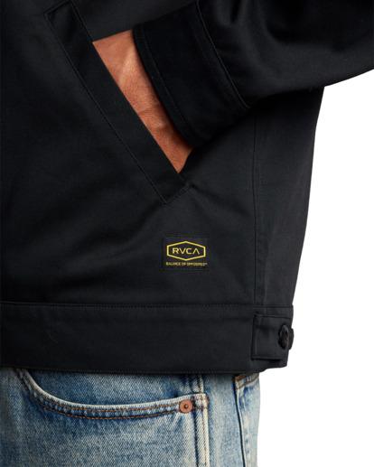 3 Day Shift Jacket Black R315434 RVCA