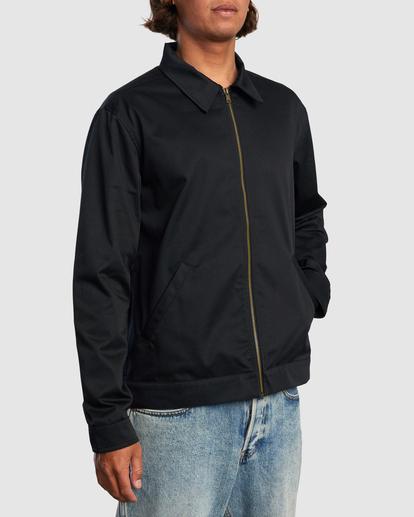 1 Day Shift Jacket Black R315434 RVCA