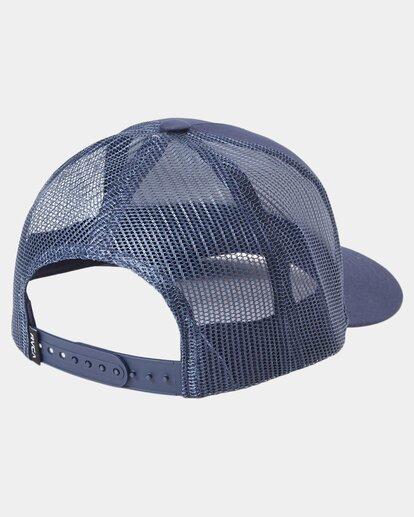 1 Dayshift Trucker Cap Blue R315565 RVCA