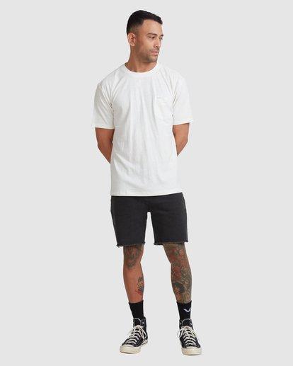 4 Hemp Natural Short Sleeve Tee Beige R317041 RVCA