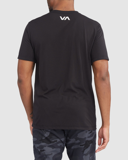 2 VA Sport | Icon Workout Shirt Black R317068 RVCA