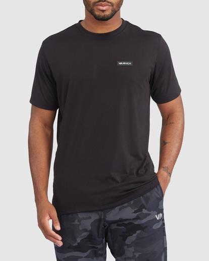 0 VA Sport | Icon Workout Shirt Black R317068 RVCA