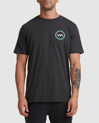 0 VA Mod Short Sleeve Tee Black R317085 RVCA