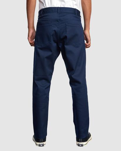 2 NEW DAWN MODERN STRAIGHT FIT PANT Blue R317271 RVCA