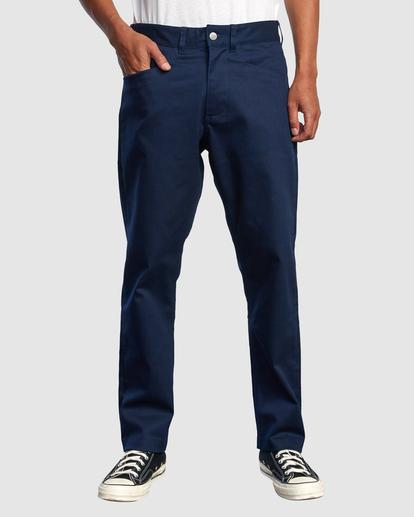 1 NEW DAWN MODERN STRAIGHT FIT PANT Blue R317271 RVCA