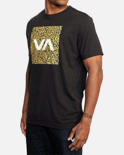 1 VA BOX FILL SHORT SLEEVE TEE Black R318044 RVCA