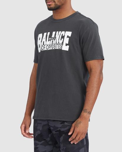 1 RVCA BALANCE BLOCK SHORT SLEEVE TEE Black R318046 RVCA