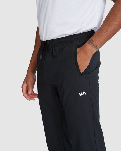 3 YOGGER STRETCH TRACK PANT Black R318272 RVCA