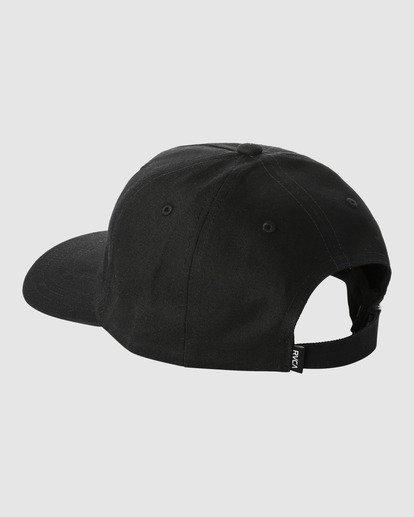 1 TRIPPY DANA CLASPBACK CAP Black R318561 RVCA