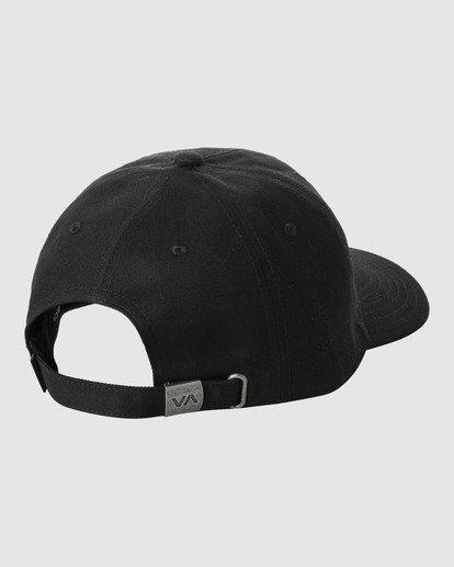2 TRIPPY DANA CLASPBACK CAP Black R318561 RVCA