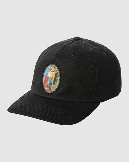 0 TRIPPY DANA CLASPBACK CAP Black R318561 RVCA