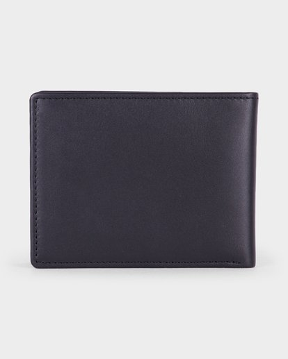 2 Crest Bifold Wallet Black R381492 RVCA