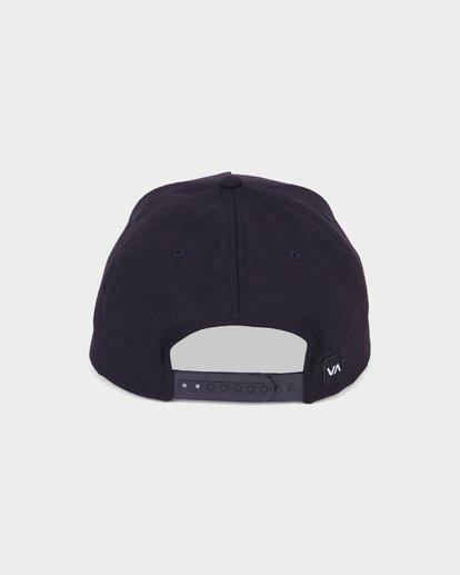 2 Commonwealth Deluxe Cap Black R381562 RVCA