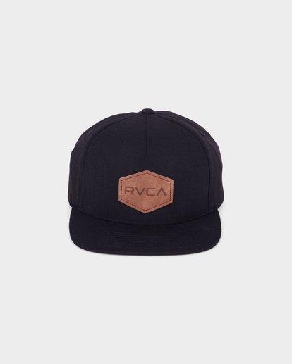 1 Commonwealth Deluxe Cap Black R381562 RVCA