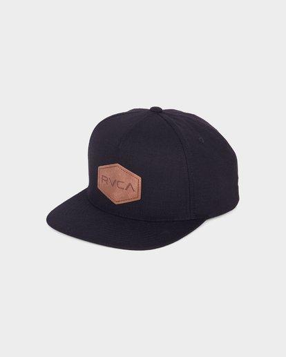 0 Commonwealth Deluxe Cap Black R381562 RVCA