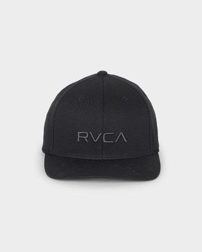 1 RVCA FLEX FIT CAP Black R382568 RVCA