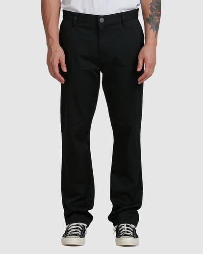 1 Weekend Stretch Pants Black R383273 RVCA