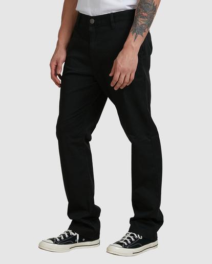 0 Weekend Stretch Pants Black R383273 RVCA