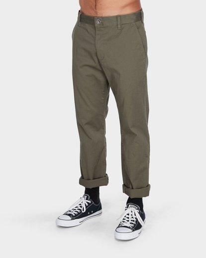 0 Weekend Stretch Pants Green R383273 RVCA