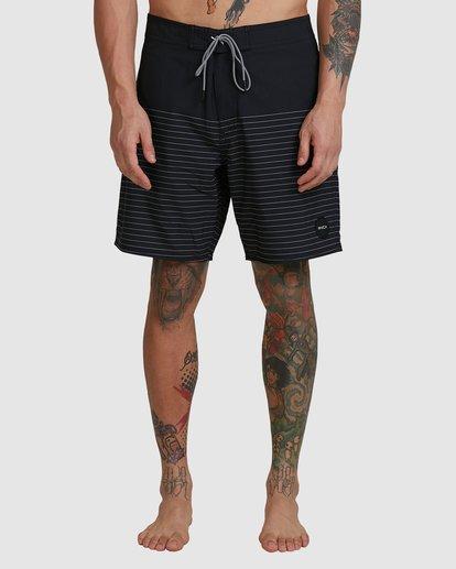 "1 Curren Boardshorts 18"" Black R383411 RVCA"