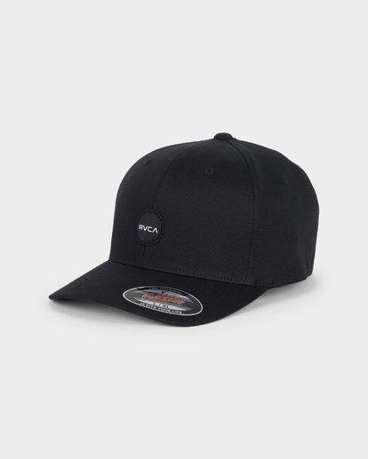 0 Mini Motors Flex Fit Cap Black R391564 RVCA