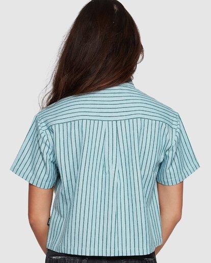 2 Jefferson Short Sleeve Shirt Green R407181 RVCA