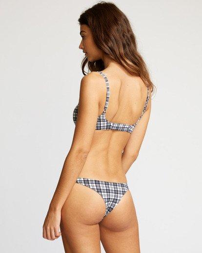 3 Uptown Medium Bikini Bottom Black R491813 RVCA