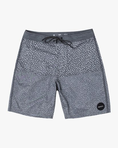"""0 Arroyo Trunk 19"""" - Printed Board Shorts for Men Black S1BSRGRVP0 RVCA"""