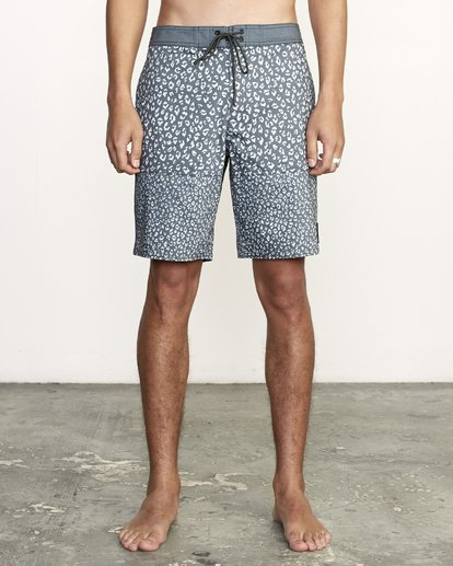 """1 Arroyo Trunk 19"""" - Printed Board Shorts for Men Black S1BSRGRVP0 RVCA"""