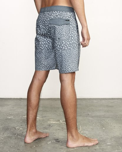 """5 Arroyo Trunk 19"""" - Printed Board Shorts for Men Black S1BSRGRVP0 RVCA"""