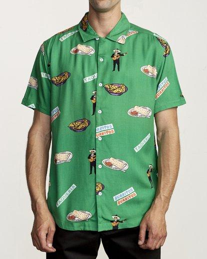 0 Hot Fudge - Camisa estampada de manga corta para Hombre  S1SHRJRVP0 RVCA