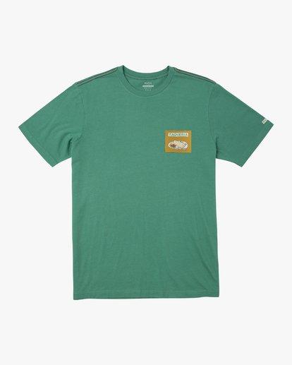 0 Hot Fudge Taqueria - Camiseta con estampado gráfico para Hombre Verde S1SSRFRVP0 RVCA