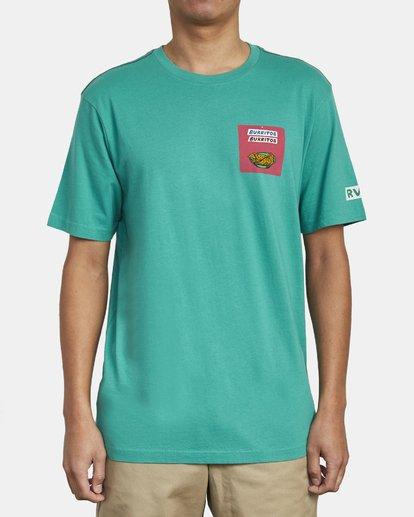 2 Hot Fudge Taqueria - Camiseta con estampado gráfico para Hombre Verde S1SSRFRVP0 RVCA