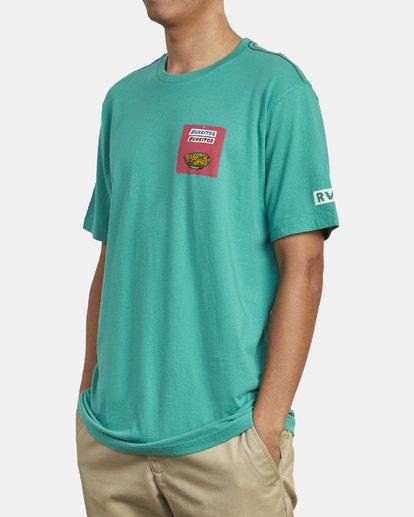 4 Hot Fudge Taqueria - Camiseta con estampado gráfico para Hombre Verde S1SSRFRVP0 RVCA