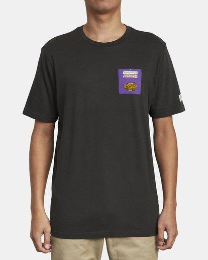 2 Hot Fudge Taqueria - Camiseta con estampado gráfico para Hombre Negro S1SSRFRVP0 RVCA