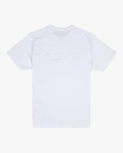 1 Big RVCA - T-shirt pour Homme Blanc S1SSRPRVP0 RVCA